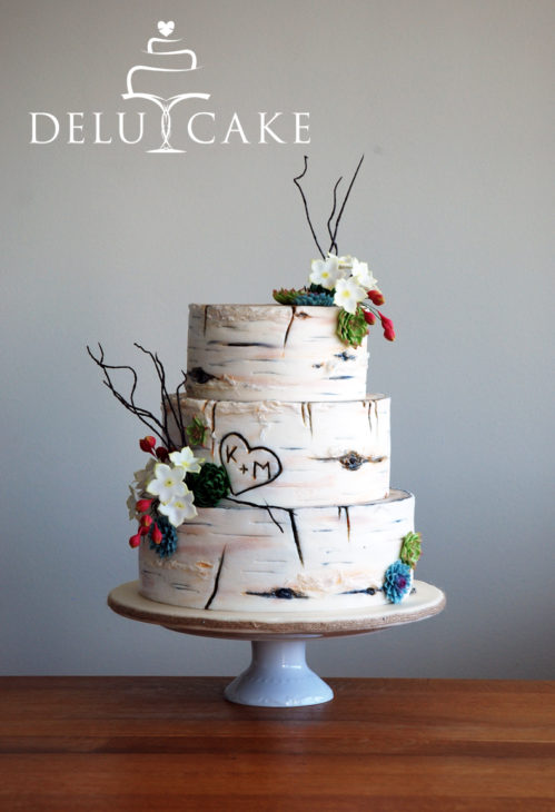 Wedding cakes in many variations